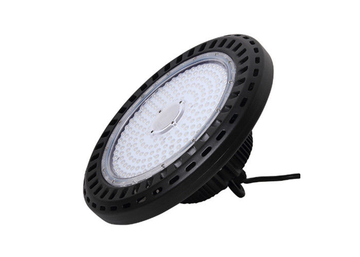 IP65 White Ufo Led High Bay Light 200 Watt 100lm High Brightness SMD3030 LED Chip