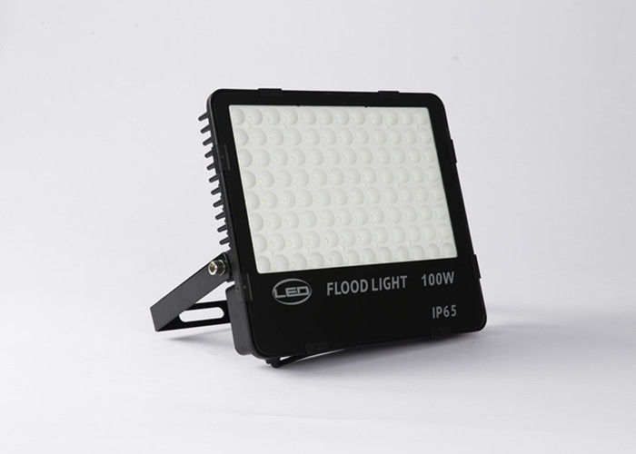 SMD Black Led Outside Flood Lights Low Consumption Outdoor Garage Flood Lights
