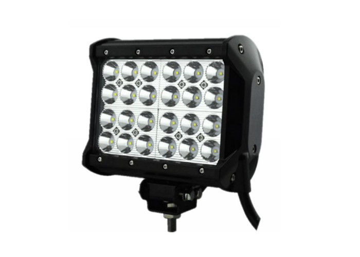 7 Square Led Offroad Lights  Quad Row Led Light Bar 32V 6000 - 6500 K