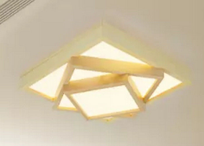 High Efficiency 6500K LED Flat Panel Ceiling Lights 600x600 High Luminance