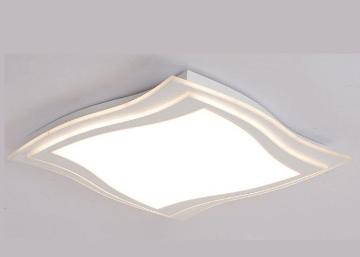 Square 4000K Thin LED Flat Panel Ceiling Lights 30w High Lumen Led Panel