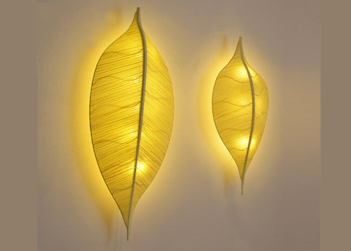 Creative Led Wall Decorative Lights Leaf Shaped Home Decor Wall Lights