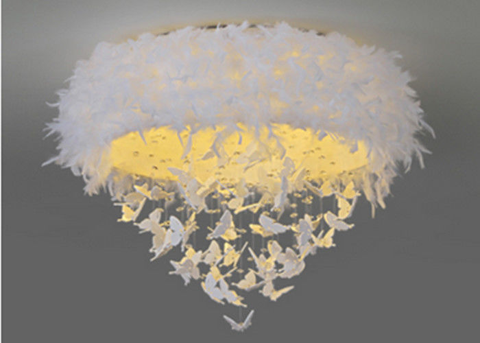High Luminous Efficiency Bedroom Pendant Lights Warm Romantic Long Life