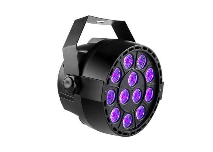 36W Led Stage Up Lighting Purple Voice Control Sensor Dj Led Light 10000 Hours